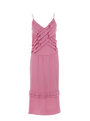 N21 - RUCHED LONG DRESS