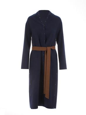 AGNONA - DARK BLUE COAT