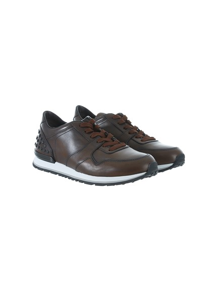 181c0fa58e tod's BROWN SNEAKERS available on lungolivigno.com - 22416