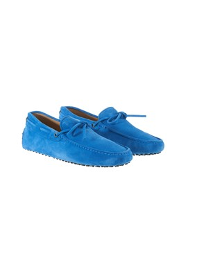 TOD'S - LIGHT BLUE LOAFERS