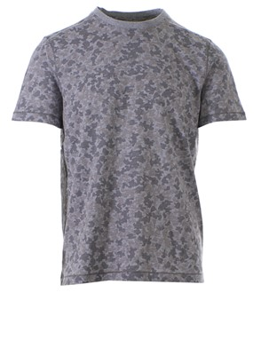 MICHAEL KORS - T-SHIRT SUBTLE CAMO 030 GREY