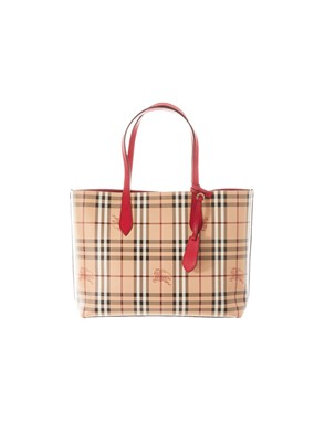 BURBERRY - BAG 4049579 MD REVERSE T RED