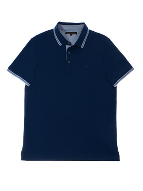 MICHAEL KORS - BLUE AND LIGHT BLUE POLO SHIRT