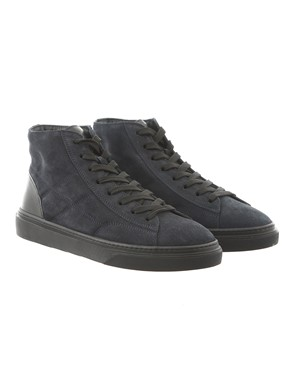 HOGAN - HOGAN H340 HI TOP NERO