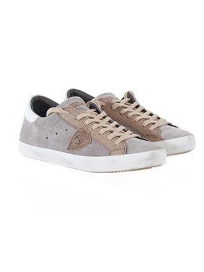 PHILIPPE MODEL - WHITE BEIGE SNEAKERS