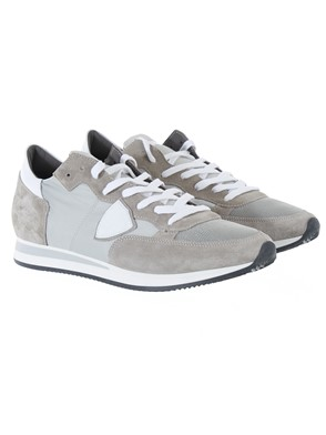 PHILIPPE MODEL - WHITE AND GREY SNEAKERS
