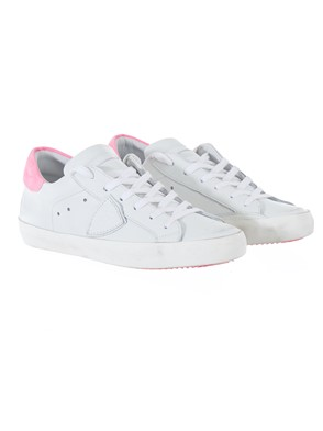 PHILIPPE MODEL - FUCHSIA AND WHITE SNEAKERS