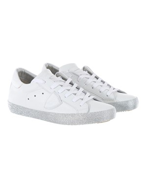 PHILIPPE MODEL - SILVER WHITE SNEAKERS
