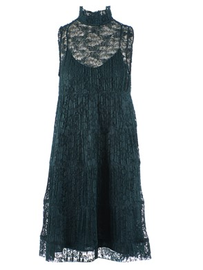 SEE BY CHLOE' - DRESS, (GREEN)