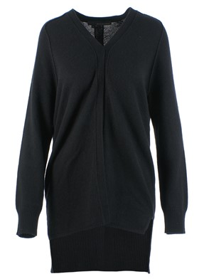 360 SWEATER - ELISA CARDIGAN (BLACK)