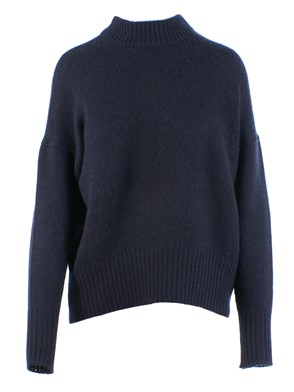 360 SWEATER - SHARINA SWEATER (BLUE)