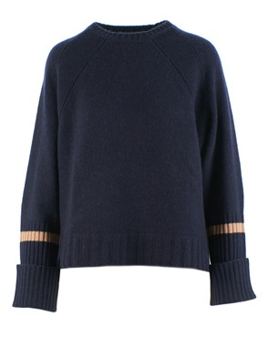 360 SWEATER - MARA SWEATER (BLUE)