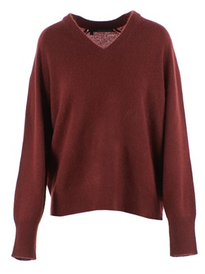 360 SWEATER - PULL DANIELLE, (RED)