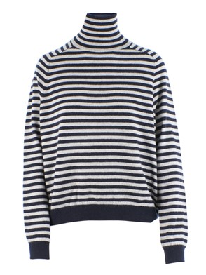 360 SWEATER - ERIKA SWEATER (BLUE STRIPES)