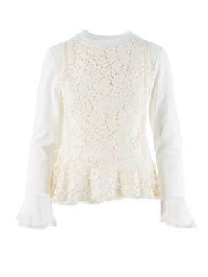 SEE BY CHLOE' - SHIRT, (WHITE)