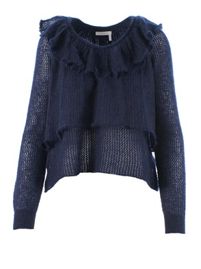 SEE BY CHLOE' - PULL, (BLUE)
