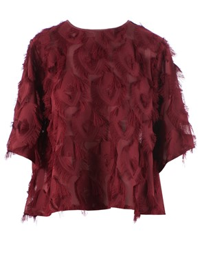 SEE BY CHLOE' - TOP, (RED)