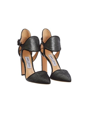 JIMMY CHOO - DECOLLETTE MOON 100 GRIGIO