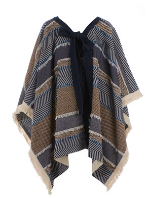 SEE BY CHLOE' - BLUE PONCHO