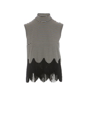 MARC JACOBS - BLACK AND WHITE TOP
