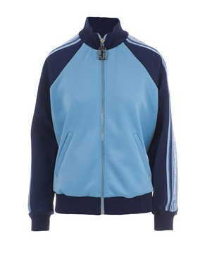 MARC JACOBS - BLUE AND LIGHT BLUE TRACK JACKETS
