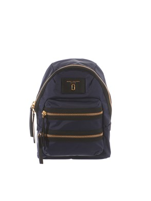 MARC JACOBS - BLUE AND BLACK BACKPACK