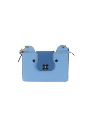 ANYA HINDMARCH - BLUE TEDDY BEAR BAG