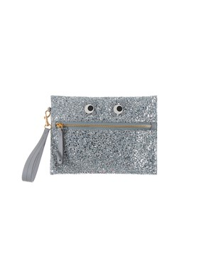 ANYA HINDMARCH - SILVER POUCH