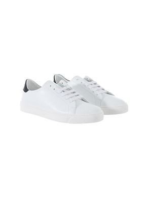 ANYA HINDMARCH - BLACK AND WHITE SNEAKERS