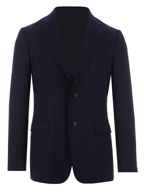 Z ZEGNA - TWO-BUTTONS WOOL JACKET