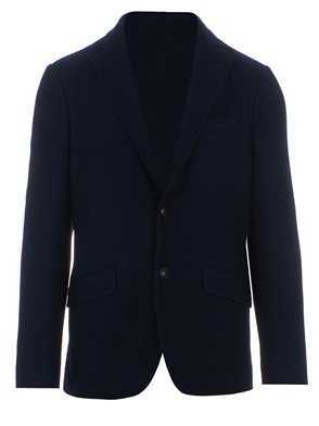 ETRO - TWO-BUTTONS JERSEY JACKET