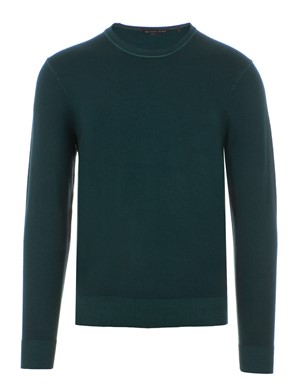 MICHAEL KORS - PULLOVER IN COTONE VERDE
