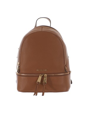 MICHAEL KORS - BEIGE LEATHER BACKPACK