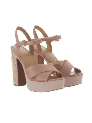 MICHAEL MICHAEL KORS - ANTIQUE PINK SIA SANDALS