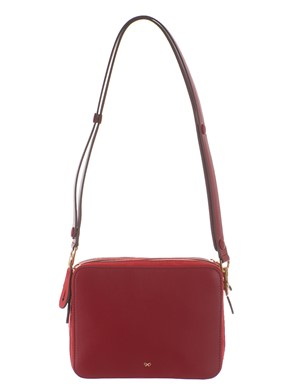 ANYA HINDMARCH - STACK DOUBLE BAG ROSSA e ARANCIONE