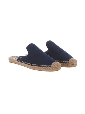 TORY BURCH - NAVY BLUE ESPADRILLAS