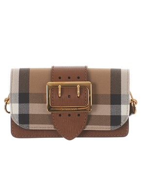 BURBERRY - BORSA THE BUCKLE CON MOTIVO HOUSE CHECK