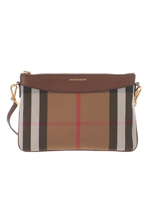 BURBERRY - POCHETTE CON MOTIVO HOUSE CHECK