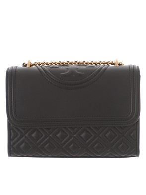 TORY BURCH - BORSA A TRACOLLA FLEMING NERA MINI