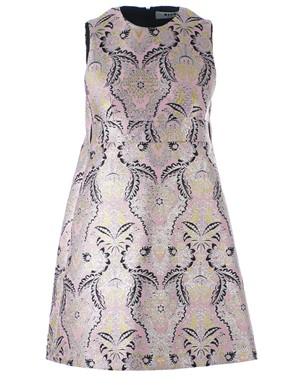 MSGM - PINK BROCADE DRESS