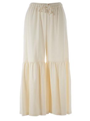 SEE BY CHLOE' - CREAM LONG SKIRT