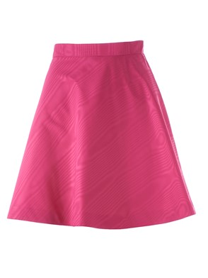 MSGM - FUCHSIA FLARED SKIRT