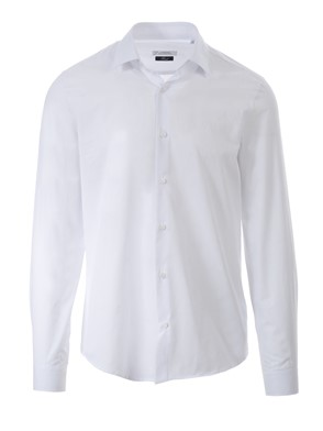 VERSACE COLLECTION - WHITE LOGO SHIRT
