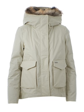 WOOLRICH - GIACCA BIANCA