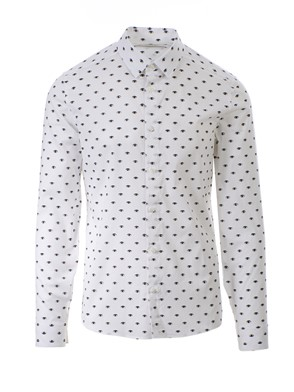 KENZO - WHITE MULTI EYE SHIRT