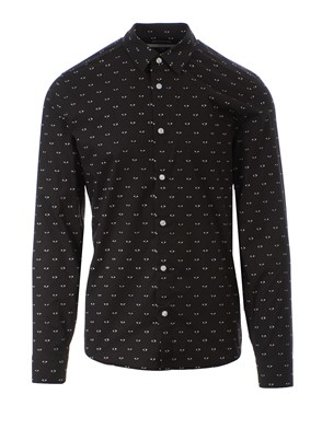 KENZO - BLACK MULTI EYE SHIRT