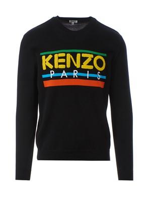 KENZO - LOGO SWEATER