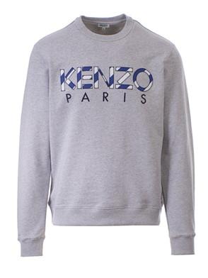 KENZO - GREY LOGO SWEATSHIRT