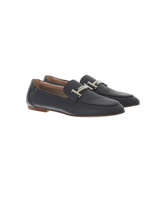 TOD'S - MIDNIGHT BLUE LEATHER LOAFERS