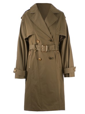 MICHAEL KORS - TRENCH VERDE MILITARE